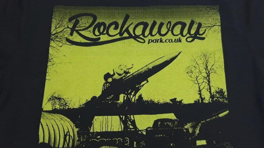 Rockaway T-shirt (green print)