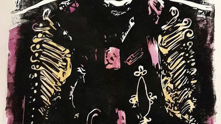 'Jimi' by Shelley Dyer-Gibbins