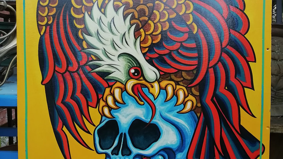 'Eagle Skull' by Dave Panit