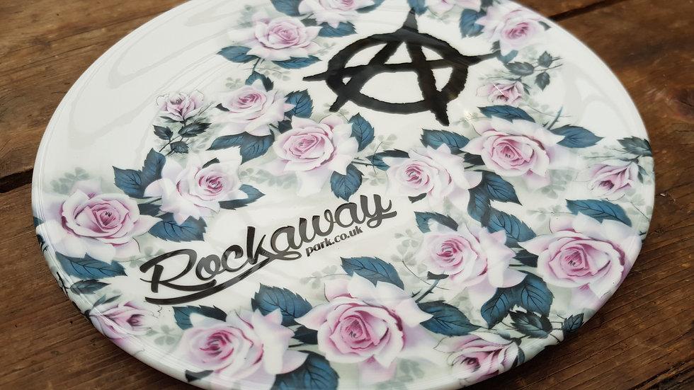 Rockaway Plate (Anarchy Roses)