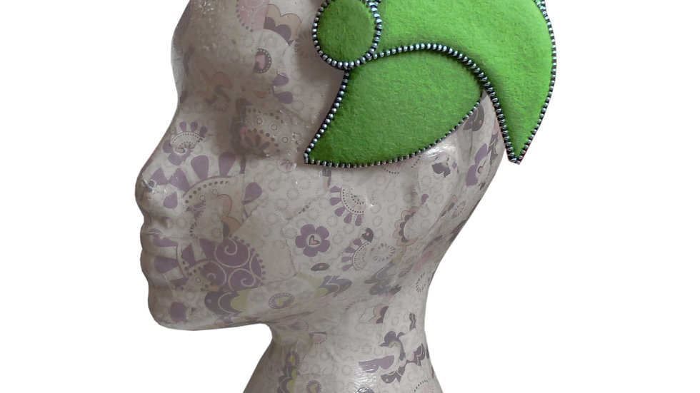 'Conch' Fascinator by Rosie French