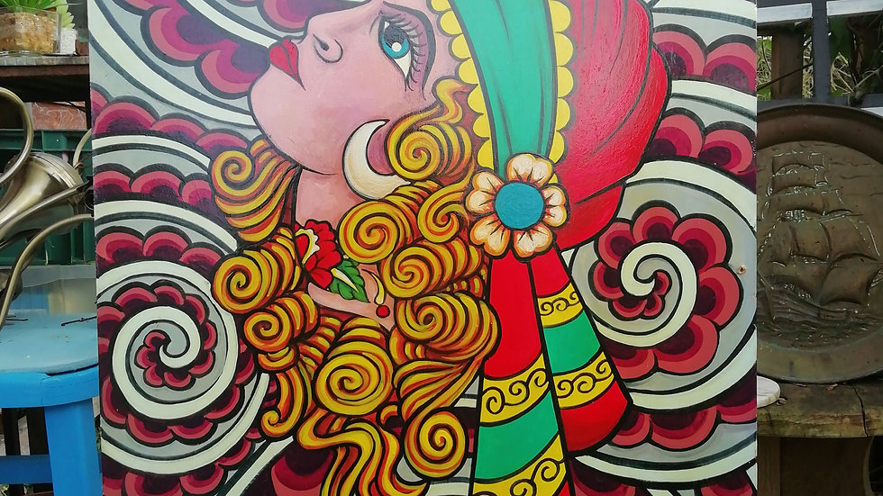 'Gypsy Figurehead' by Dave Panit