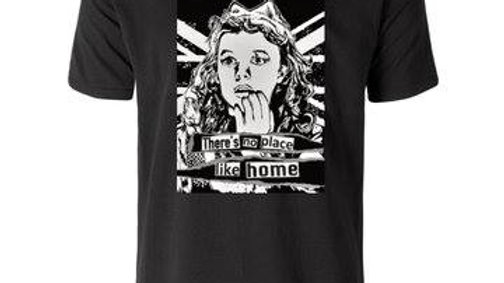 'No Place Like Home' T-shirt by Shelley Dyer-Gibbins