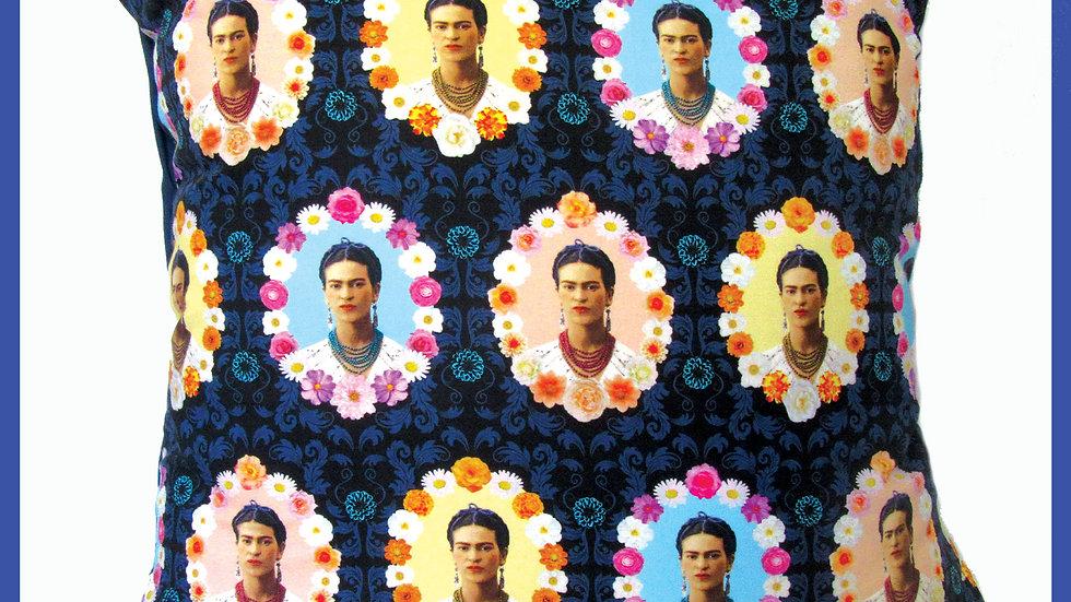 'Frida Kahlo cushion' by Viva Los Muertos