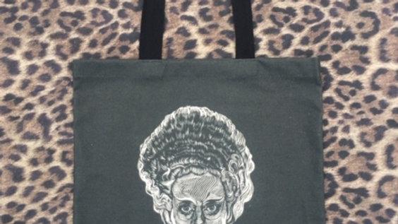 'Bride of Frankenstein' Tote Bag