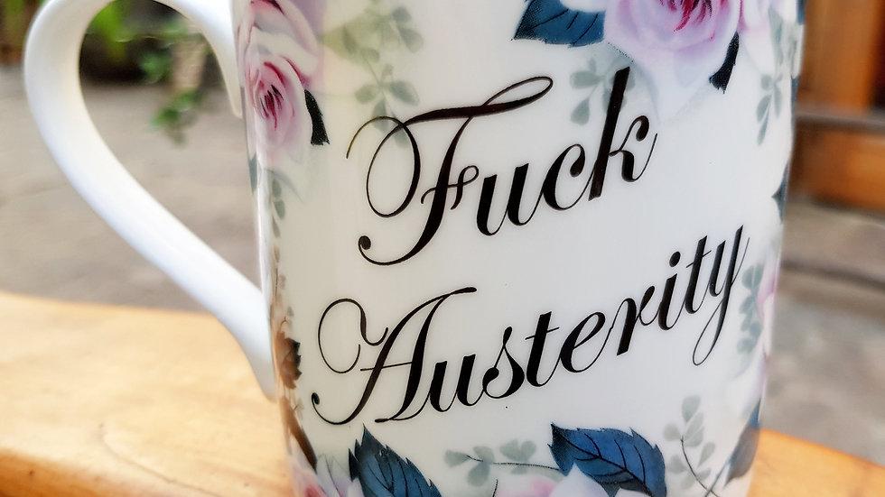 Rockaway Mug (Fuck Austerity)