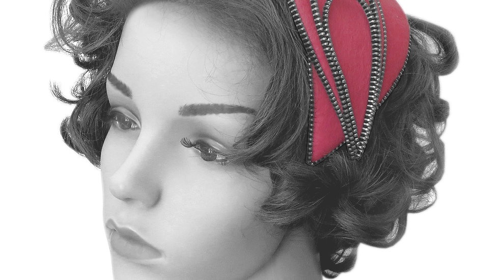 'Boutique' Fascinator by Rosie French