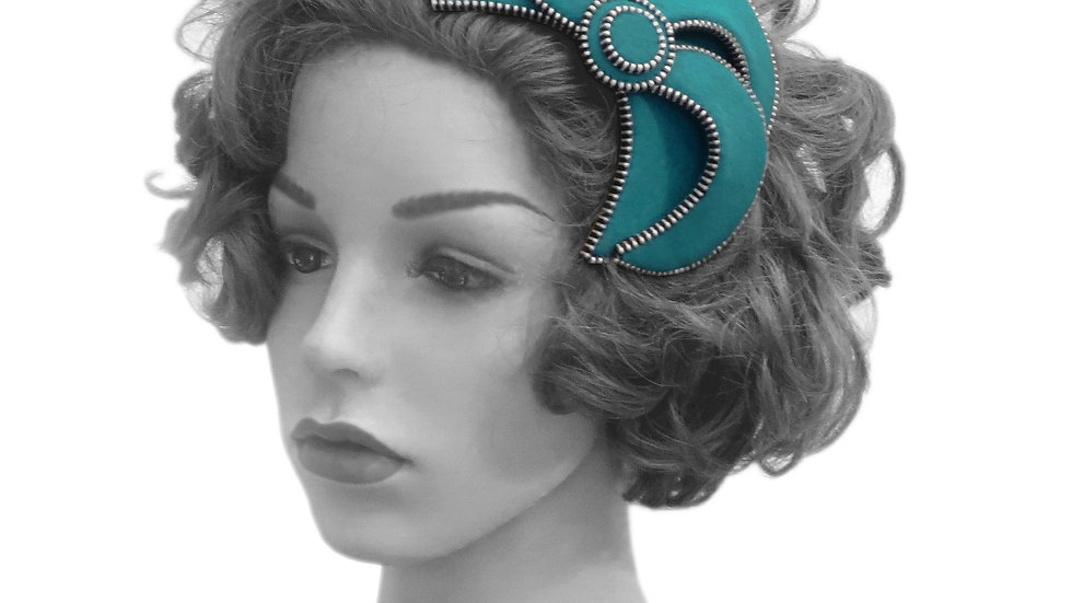 ''Carnival' Fascinator by Rosie French