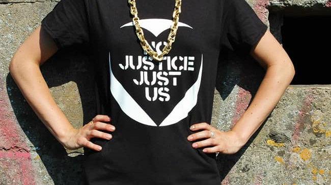 'No Justice Just Us' T-shirt