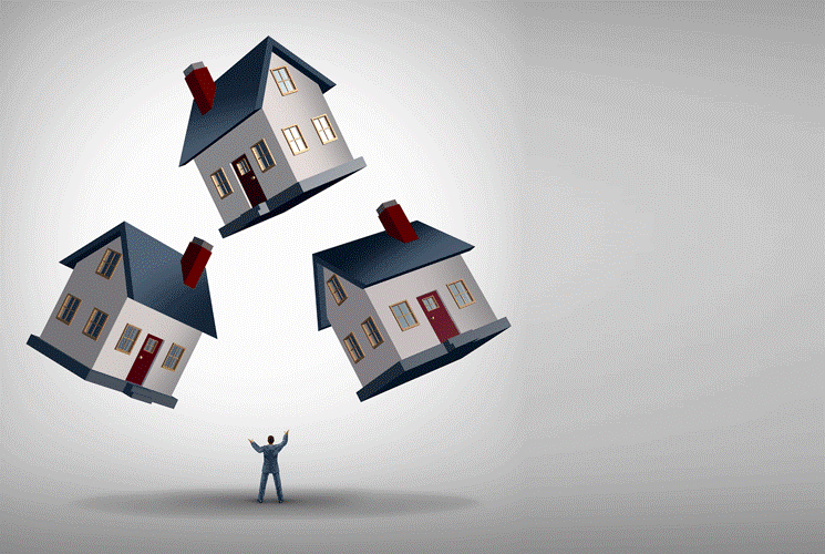 Juggling houses