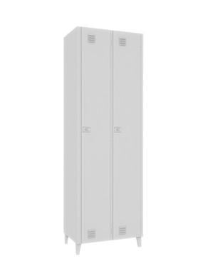 Roupeiro de Aço 2 Portas