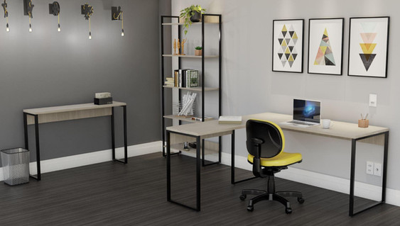 Home Office Linha Iron