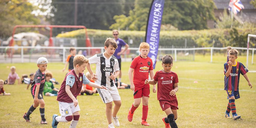 AcademyKicks October 2020 Football Camp