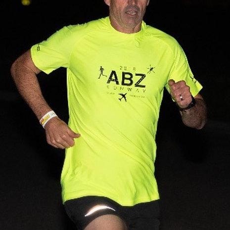 Official Aberdeen Runway Run 2018 T-Shirt.