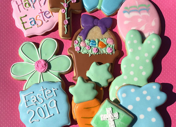 Easter/Spring Vanilla Sugar Cutouts