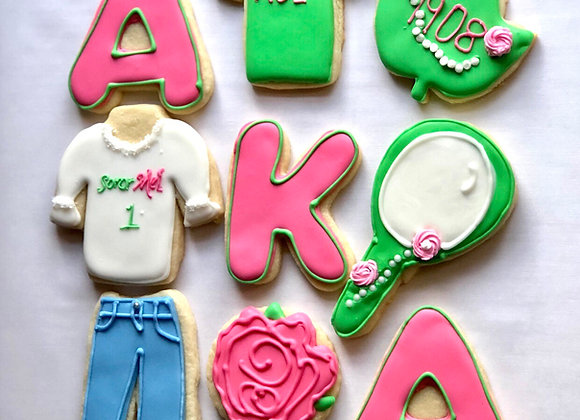 AKA Celebration Cookies