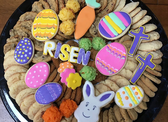 Large Easter Cookie Tray