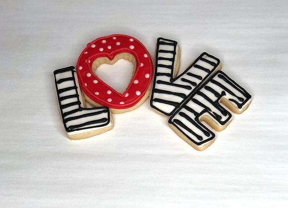 LOVE (3 Love Cookies)