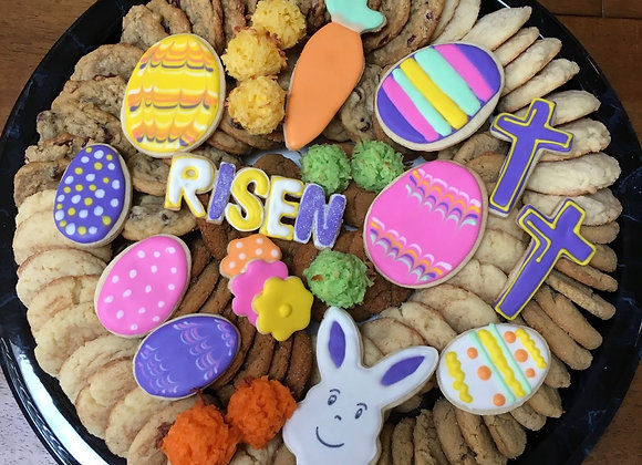 Small Easter Cookie Tray