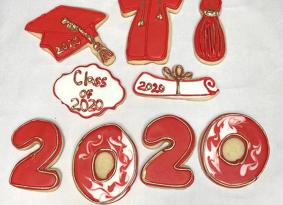 Graduation Cookies by the Dozen