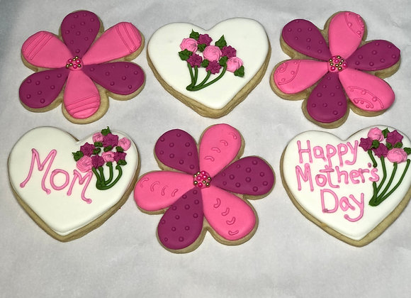 Mother's Day Cookies by the Dozen