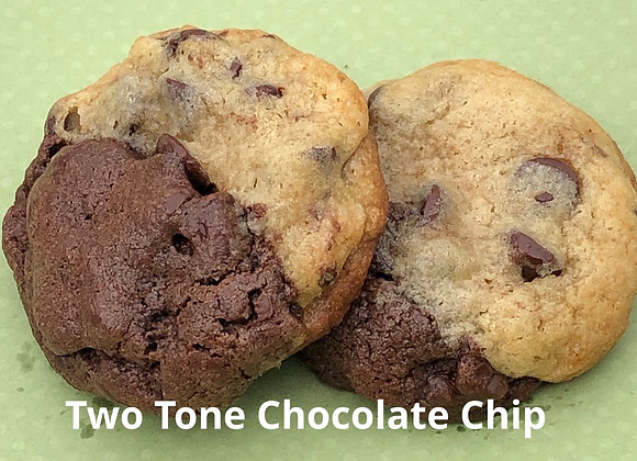 Two-Tone Chocolate Chip per dozen