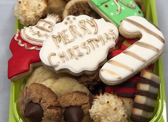 Gourmet Christmas Cookie Box