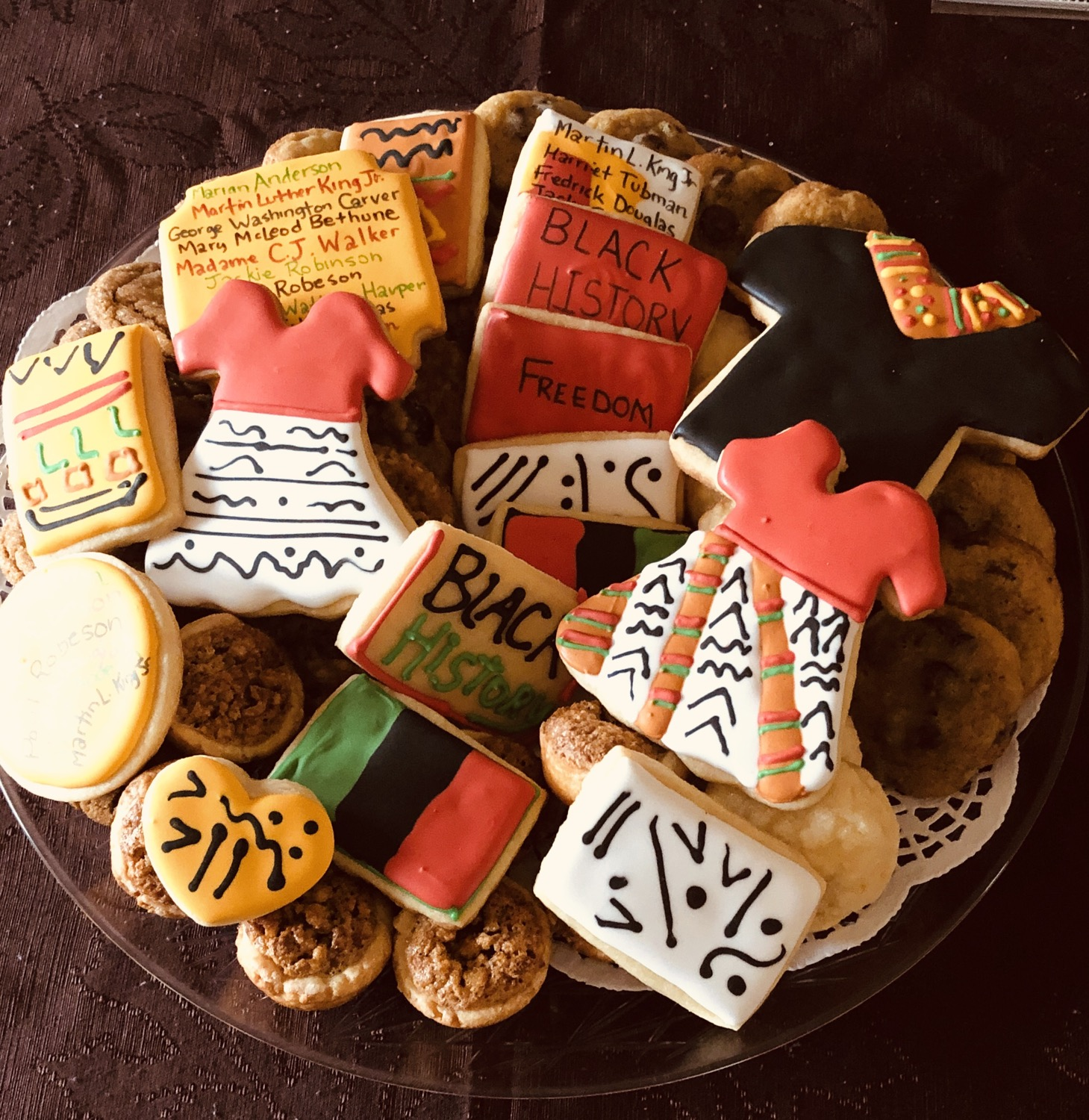 Thumbnail: Large Black History Theme Cookie Tray
