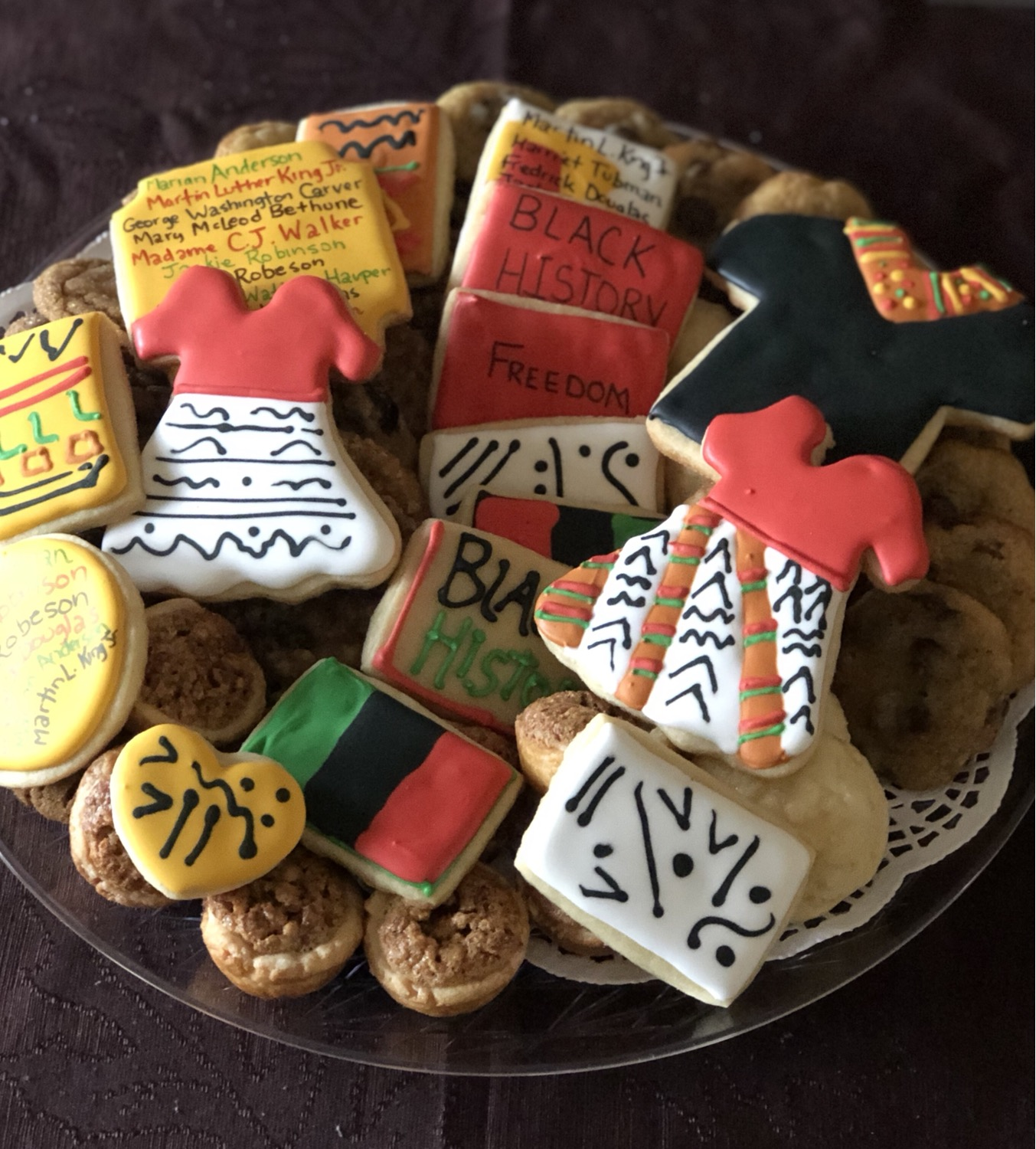 Small BLACK HISTORY Theme Tray