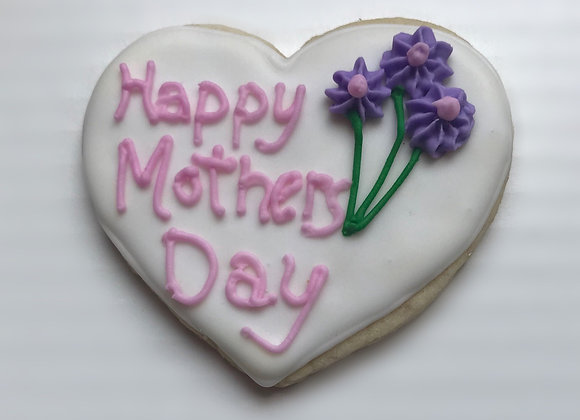 Floral Cookies for Mom