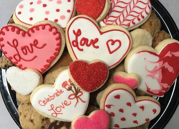 Celebrate Love MEDIUM Cookie Tray
