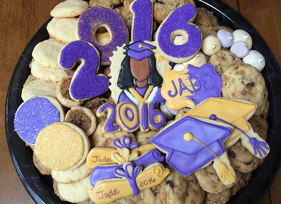 GRADUATION COOKIE TRAY - Small