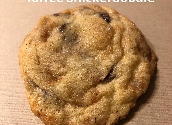 TOFFEE SNICKERDOODLES per dozen