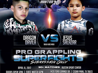 "Texas Submission Hunter 10 by Garcia Promotions- SUPER FIGHTS for our students Jesus ""Showtime&"