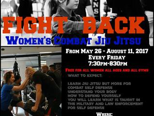 Womens Combat Jiu Jitsu for Self Defense Camp starts this SUMMER at ALL American MMA in Keller, TX!!