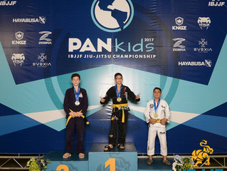 2017 IBJJF Kids PANS- February 19, 2017- ALL AMERICAN MMA Kids Competition Team bring home first eve