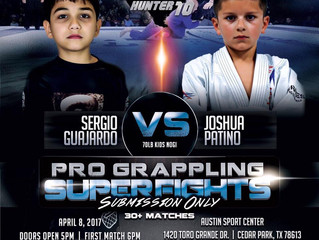 Garcia Promotion - Presents- TX -Submission Hunter 10 Pro Grappling- 30 Super Fights- Submission ONL