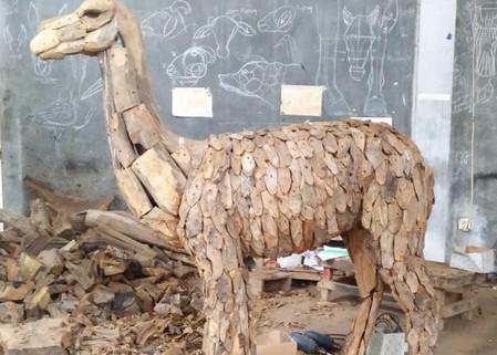 Alpaca in the making 2.
