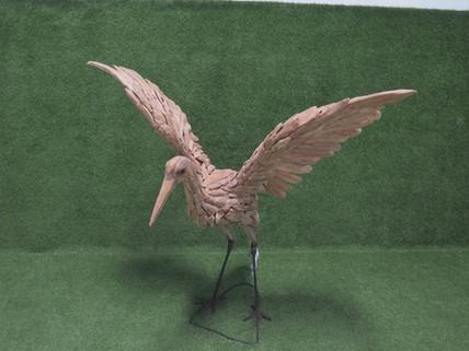 Flamingo fly