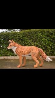 Fox painted 2.
