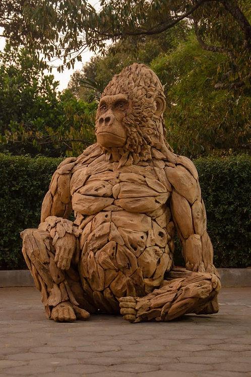 Gorilla Sculpture, Top Quality
