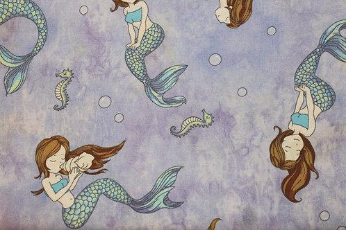 Mermaid Tale Children's Body Pillow