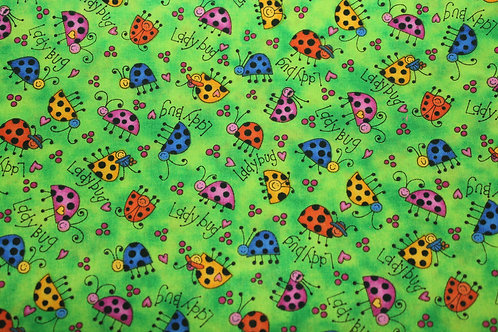 Lucky Lady Bug Children's Body Pillow