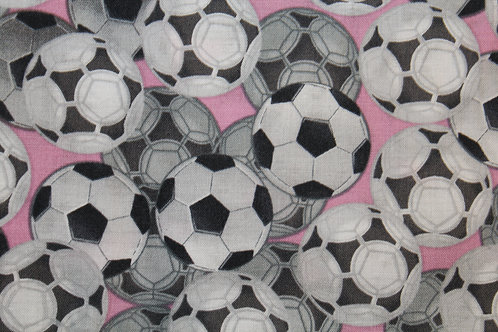 Soccer (Pink) Children's Body Pillow