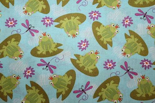 Ribbits & Dragonflies Children's Body Pillow