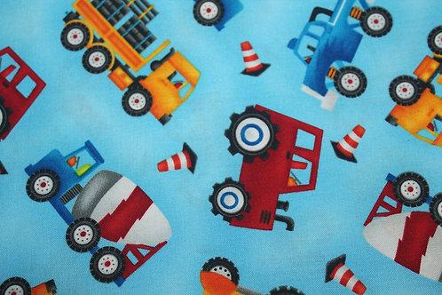 Dump Trucks & Diggers Children's Body Pillow