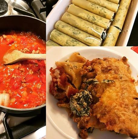 Vegetarian canneloni - super easy!