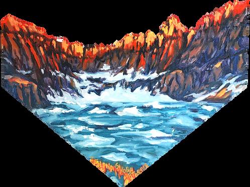 Paper Print: Iceberg Lake