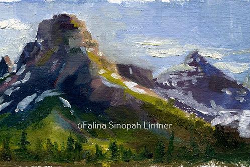 Fine Art Print: Summer on Sinopah