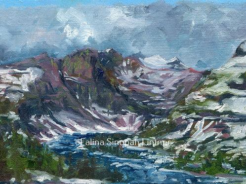 Fine Art Print: Hidden Lake Spring